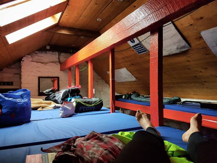 The bunk room was like a childhood dream. Incredible.