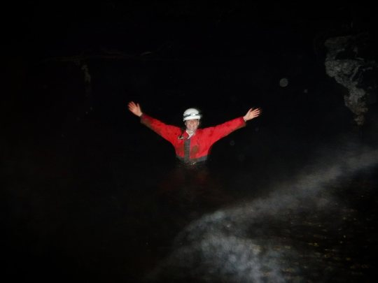 Cave swimming has now been added to a list of things to do more of...